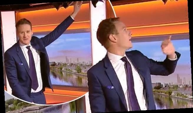 BBC Breakfast's Dan Walker is mocked by viewers