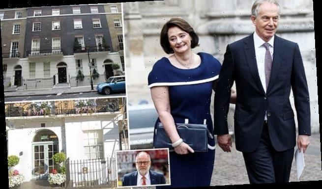 SEBASTIAN SHAKESPEARE: Tony and Cherie Blair put staff on furlough