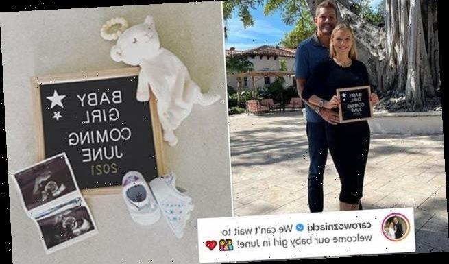 Caroline Wozniacki is PREGNANT!