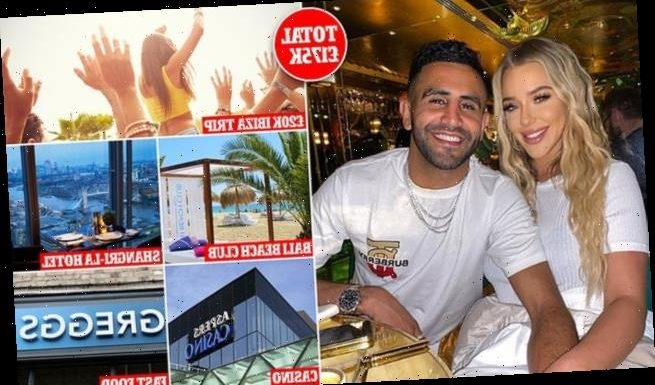 Fraudster blew £175,000 on Riyad Mahrez's bank card