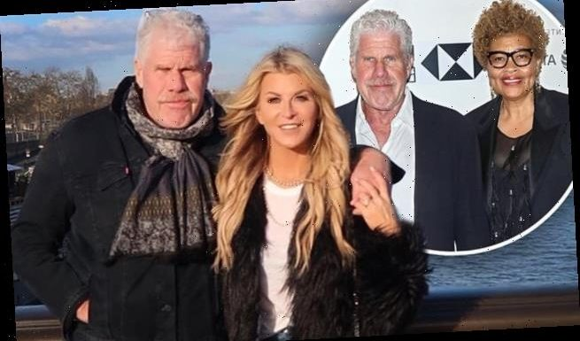 Ron Perlman declared legally single and free to marry Allison Dunbar