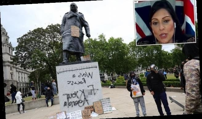 Home Secretary Priti Patel says she would not take a knee for BLM