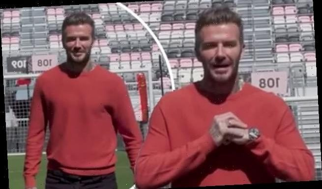 David Beckham shares a video speaking Chinese to mark Lunar New Year