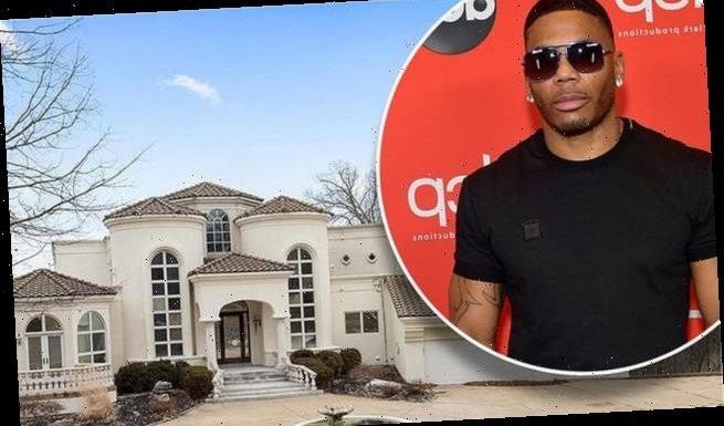 Nelly places his six-bedroom Missouri mansion on the market