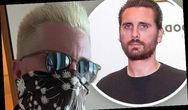 Scott Disick, 37, shows off new blonde hairdo