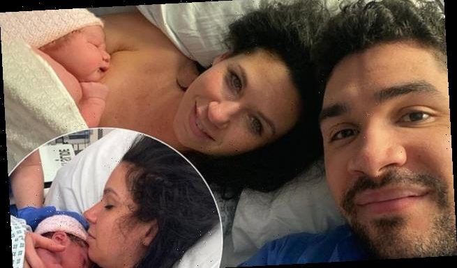 Louis Smith reveals he has become a father