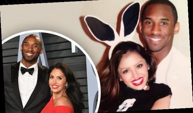Vanessa Bryant shares a throwback snap with her husband Kobe