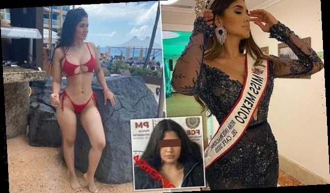 Mexican beauty queen is detained and warned she faces 50 years in jail