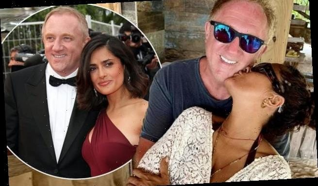 Salma Hayek 'offended' by claims she married because of money