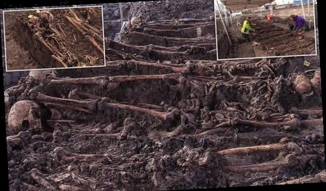 Mass grave of British troops who fought French revolutionaries found