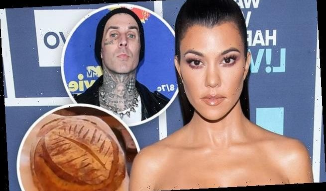 Kourtney Kardashian bakes bread for beau Travis Barker's daughter