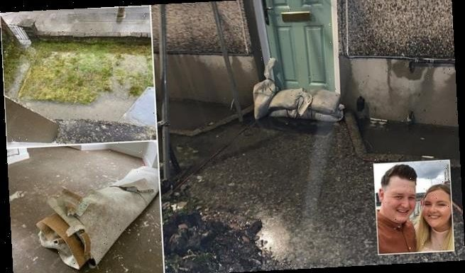 Couple's dream home is ruined by flooding days after £10,000 refurb