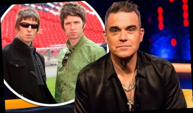 Robbie Williams says Liam and Noel Gallagher feud drove him out of UK