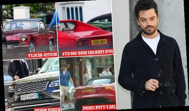 Dominic Cooper 'has FOURTH car stolen as his £83k Ferrari is swiped'