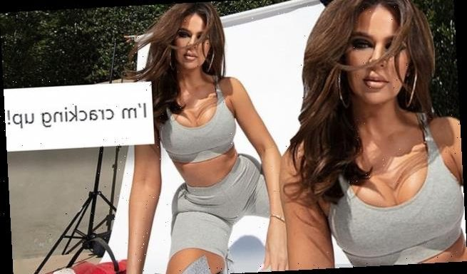 Khloe Kardashian explains super skinny frame in ads for Good American