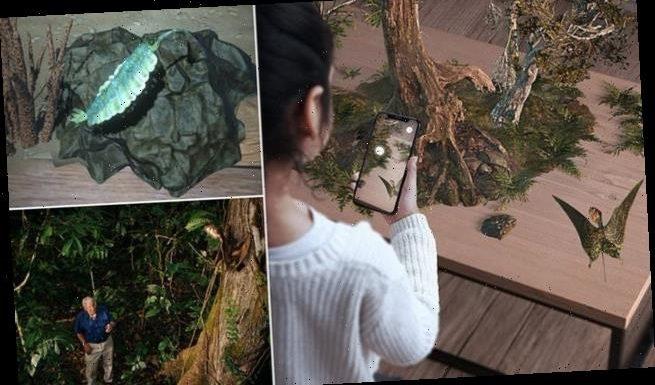 David Attenborough is bringing prehistoric creatures into your home