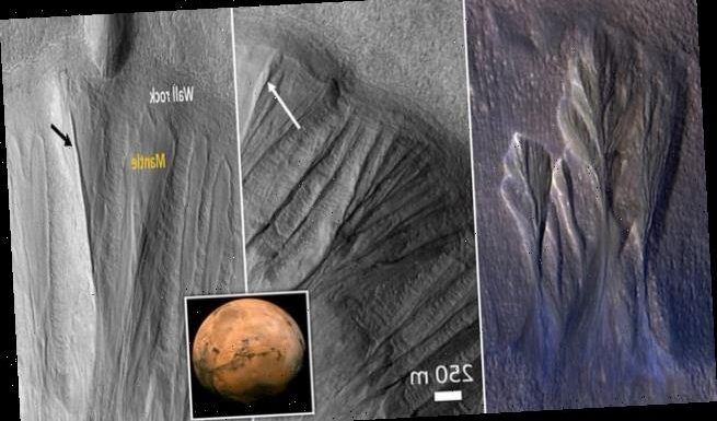 Scientists spot evidence of melting snow on Mars flowing into gullies
