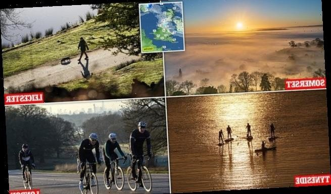 Lockdown-weary Britons are set for 55F weekend in the Great Outdoors