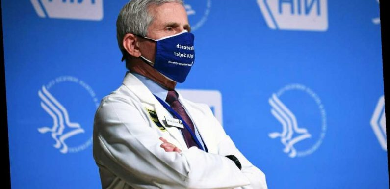 Fauci urges Americans to take any vaccine available to them when eligible