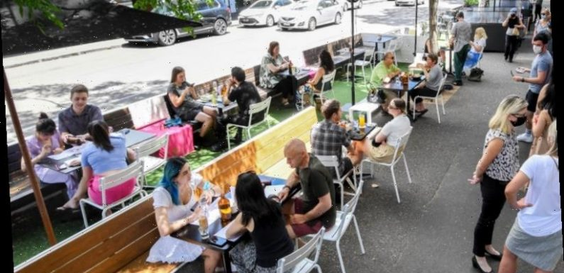 Outdoor dining under a cloud as cash-strapped council misses parking fees