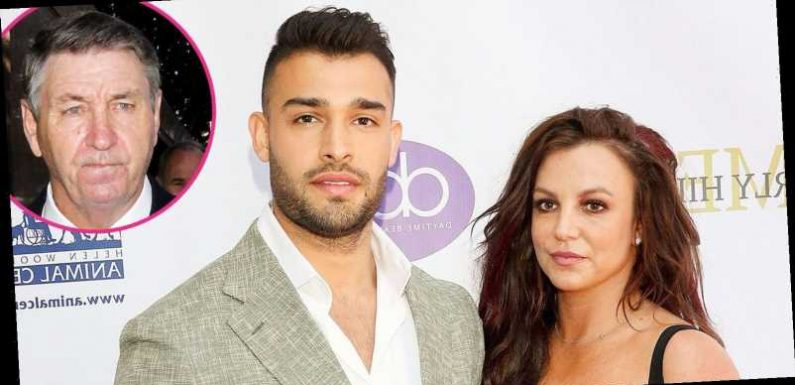 Britney Spears' BF Sam Asghari Rebukes Her Dad: 'Jamie Is a Total Dick'