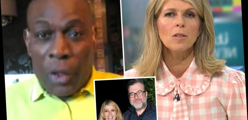 Kate Garraway says she still 'can't see' Derek Draper in hospital as Frank Bruno sends his best wishes to ill husband