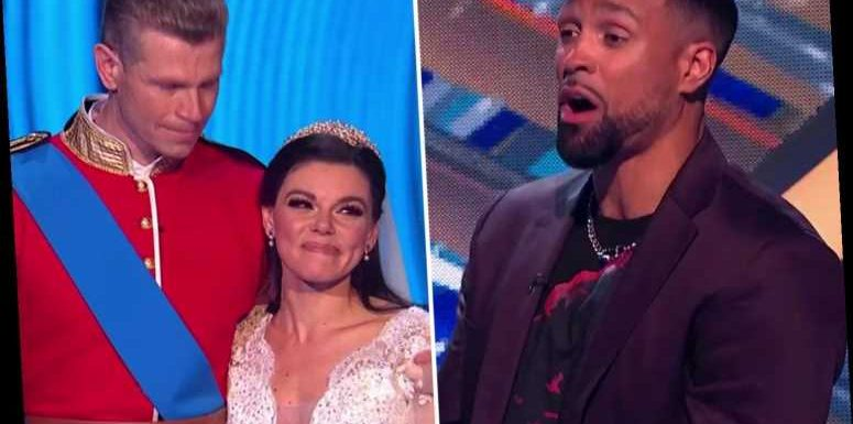Dancing On Ice's Faye Brookes breaks down in tears after judges' dish out 'harsh' scores over Wills and Kate performance