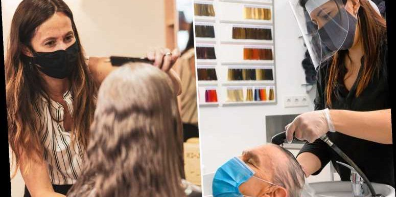 Hairdressers and barbers to reopen on April 12 with SEVEN more weeks until Brits can get a chop