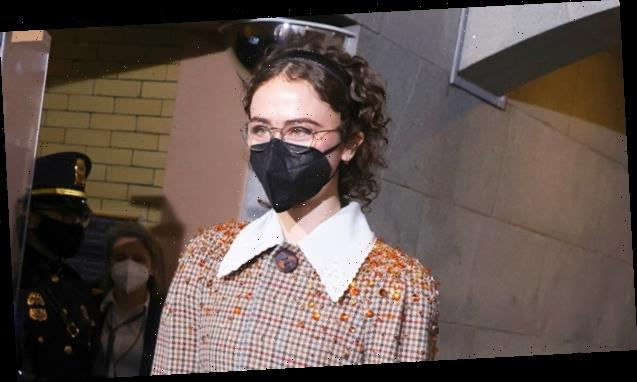 Kamala Harris' Stepdaughter Ella Emhoff, 21, Makes NYFW Debut In Yellow Tie-Dye Top – See Pics