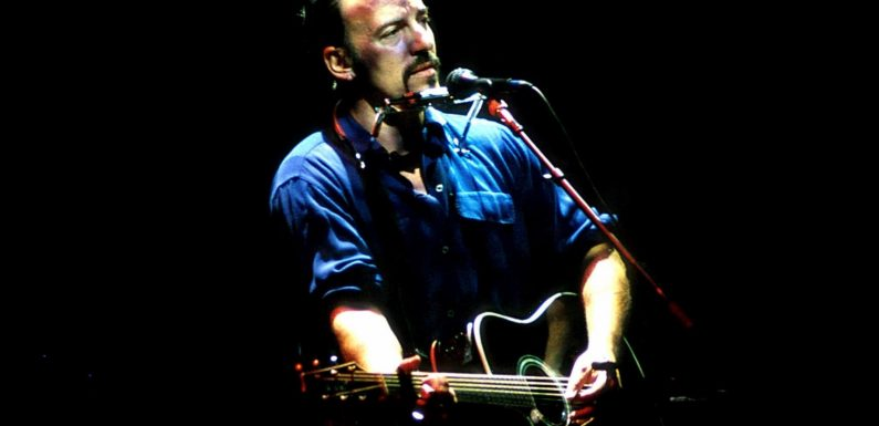 Hear Bruce Springsteen Play 'Murder Incorporated' From New 1997 Acoustic Live LP