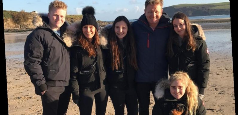 How many children does Gordon Ramsay have?