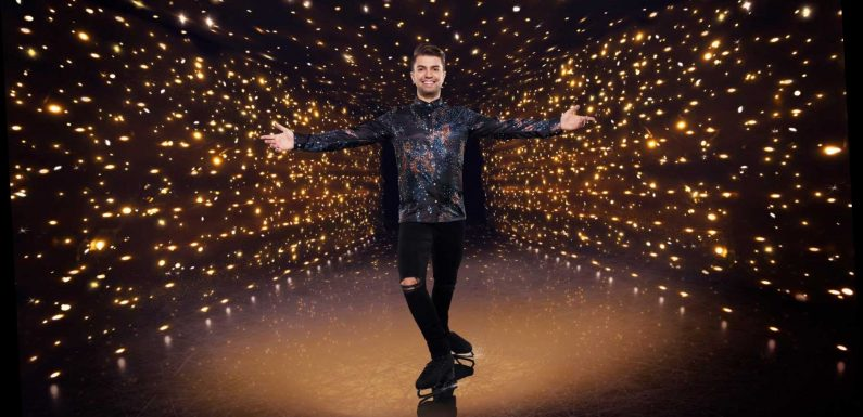 Who is Dancing On Ice star Sonny Jay and who is the celebrity's professional partner?