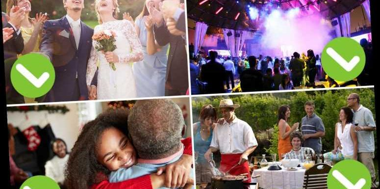 June 21 lockdown changes – Everything you can do from nightclubs to weddings