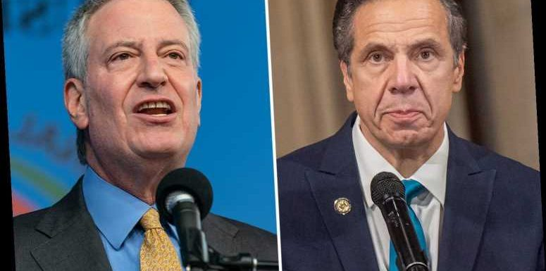 Cuomo is ripped for 'bullying' by NYC Mayor Bill de Blasio after 'belittling phone calls uncovered'