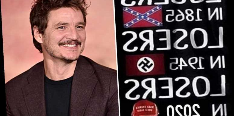 The Last of Us star Pedro Pascal slammed for comparing Trump supporters to Nazis after co-star Gina Carano's firing