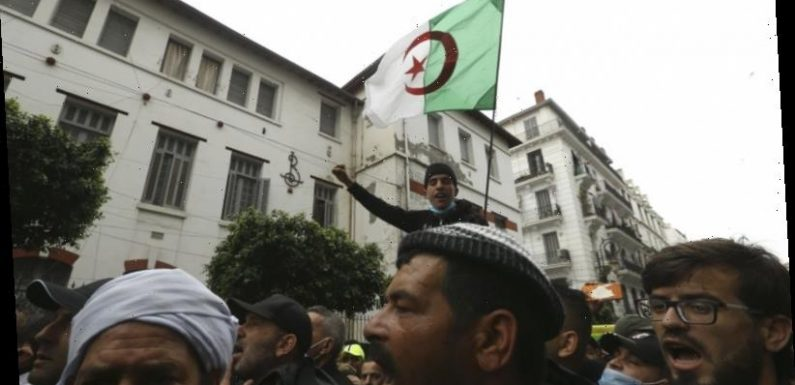 'Independence, independence': Algerians return to streets to reject promised reforms