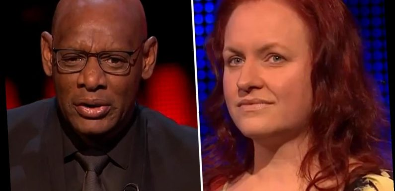 The Chase's Shaun Wallace warns contestant 'I do the explanations' after she 'goes for his job' in fiery spat
