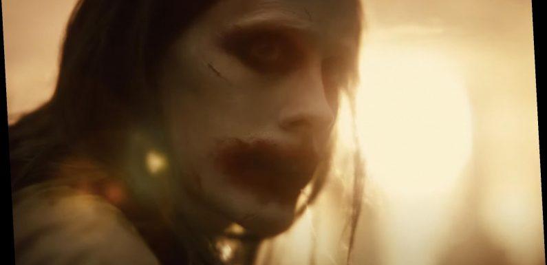 Jared Leto's Joker Returns in New 'Zack Snyder's Justice League' Trailer