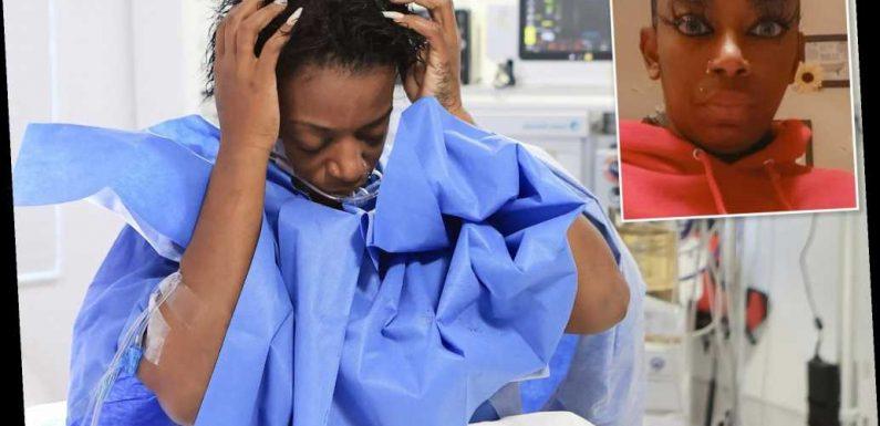 'Gorilla Glue girl' gets her hair unstuck after surgery