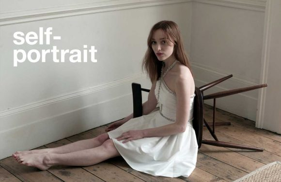 'Bridgerton' Star Phoebe Dynevor Poses for Self-Portrait's Fall Ads