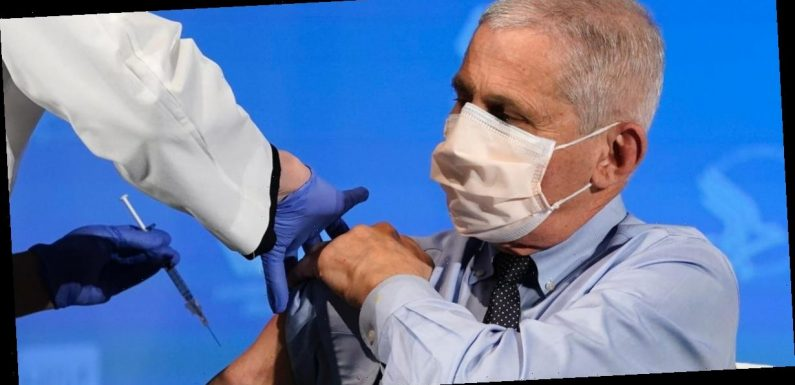 Fauci urges Americans to get vaccinated, not to cherry-pick the brand they receive