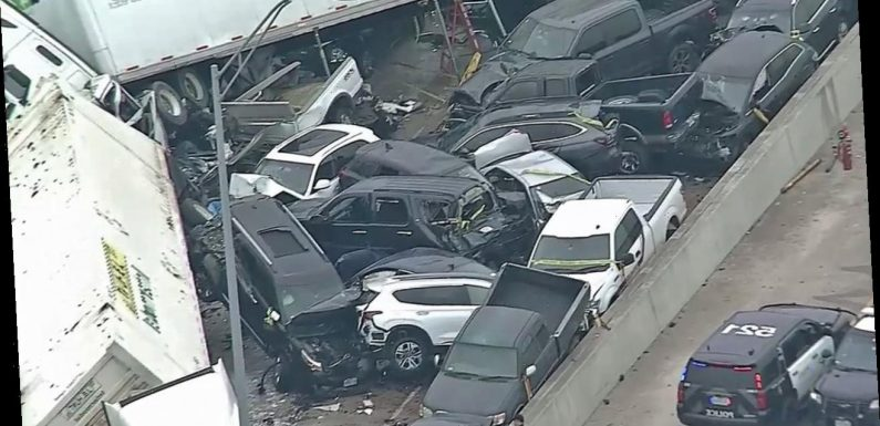 NTSB investigating 133-car pileup that left six people dead in Texas