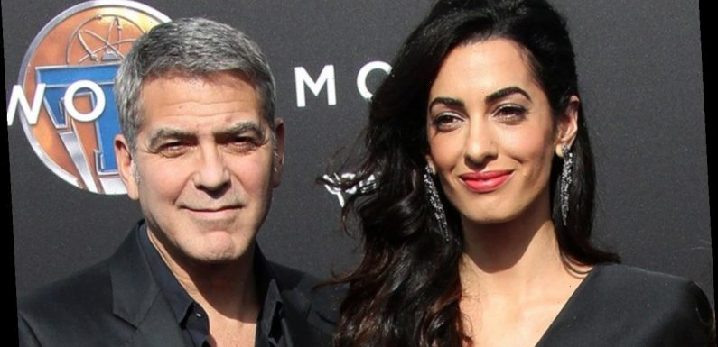 Handy George Clooney Transforms Into Family's Personal Tailor During COVID-19 Lockdown