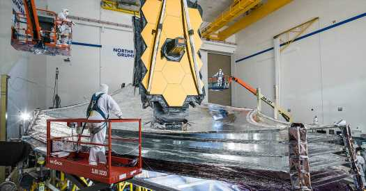 The Webb Telescope, NASA's Golden Surfer, Is Almost Ready, Again