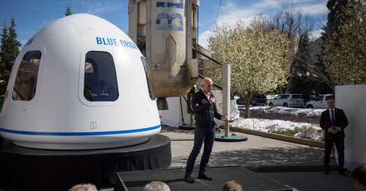 Jeff Bezos Renews Focus on Blue Origin, Which Has Been Slower to Launch