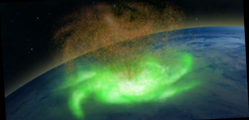 First ever space hurricane which rains electrons found by scientists above Earth