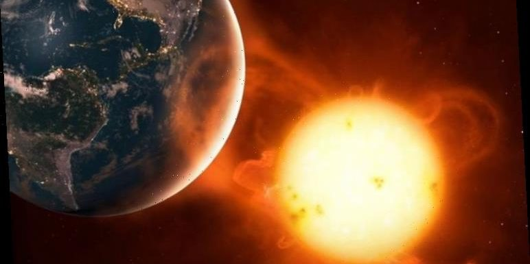 Earth being bombarded by 500km/s solar storm which could affect technology