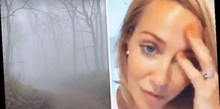A Place In The Sun presenter Laura Hamilton gets 'lost' on walk due to tricky conditions