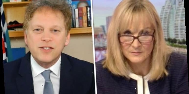 Louise Minchin grills Shapps on 1 percent NHS pay rise 'Address that question!'