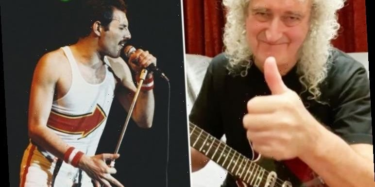 Freddie Mercury photos: Brian May's insider commentary on pictures of late Queen singer
